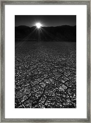 Rockhouse Canyon Sunset Framed Print by Peter Tellone