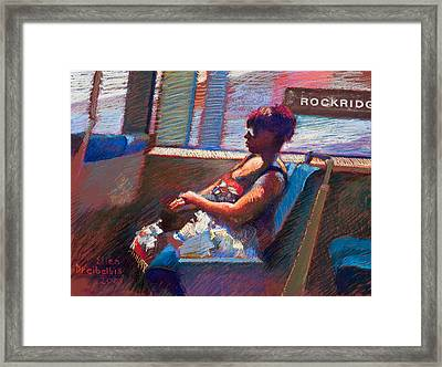 Rockridge Framed Print by Ellen Dreibelbis