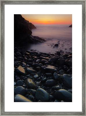 Rocks 2 Framed Print by William Sanger
