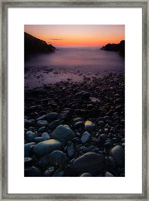 Rocks Framed Print by William Sanger