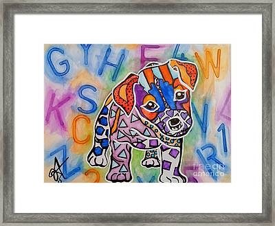 Rocky Framed Print by Jackie Carpenter