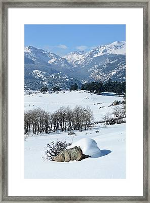 Rocky Mountain National Park Framed Print by Julie Rideout