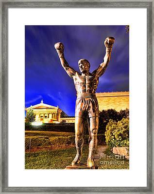 Rocky Framed Print by Paul Ward
