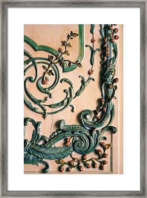 Rococo Framed Print by Georgia Fowler