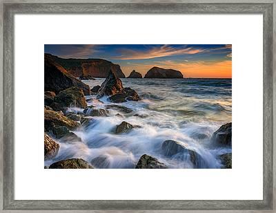 Rodeo Beach Framed Print by Rick Berk