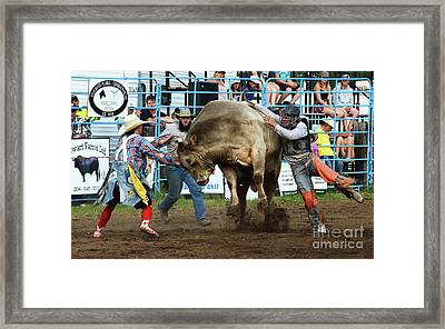 Rodeo Life 5 Framed Print by Bob Christopher