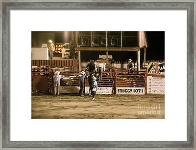 Rodeo Night Framed Print by Jason Freedman