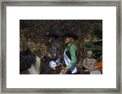 Rodeo Queens Framed Print by The Stone Age