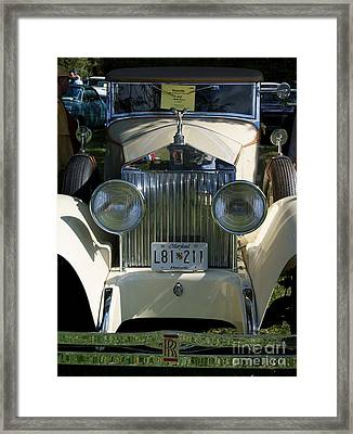 Roller Framed Print by David Pettit