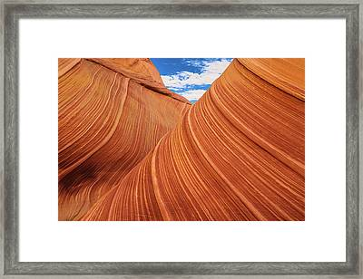 Rolling Hills Framed Print by Edgars Erglis