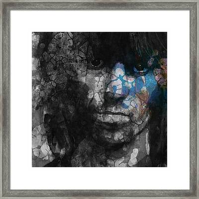 Rolling Stoned Framed Print by Paul Lovering