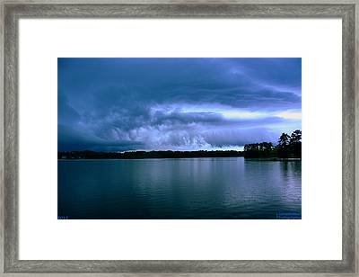 Rolling Thunder Framed Print by Lisa Wooten
