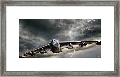 Rolling Thunder V2 Framed Print by Peter Chilelli