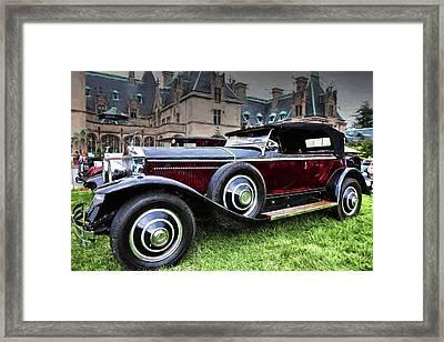 Rolls Royce Painted Phantom I Framed Print by Carol R Montoya