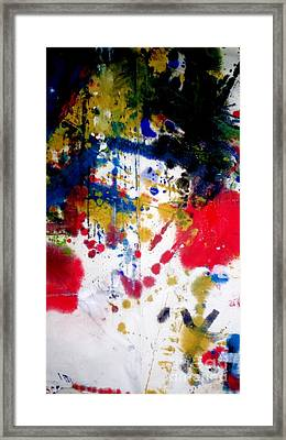 Romak Abstract Framed Print by Amy Sorrell