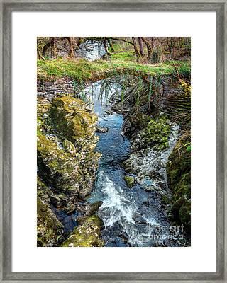 Roman Bridge Framed Print by Adrian Evans