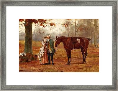 Romance  Framed Print by George Goodwin