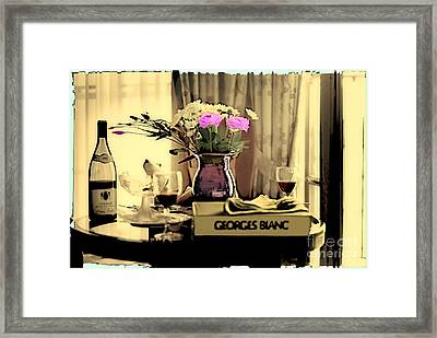 Romance In The Afternoon II Framed Print by Madeline Ellis