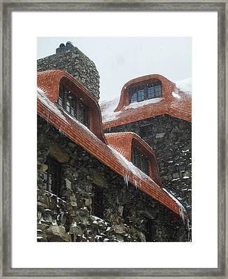 Romancing The Stone Framed Print by Karen Wiles