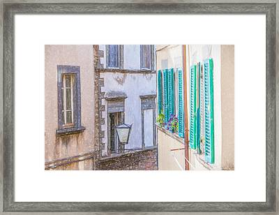 Romantic Cortona Framed Print by David Letts