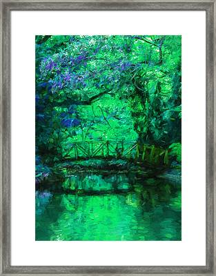 Romantic Irish Fantasy  Framed Print by Georgiana Romanovna