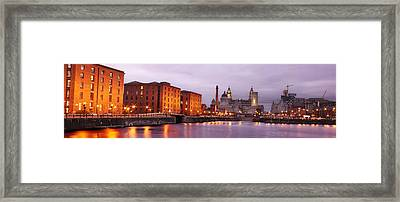 Romantic Liverpool Framed Print by Sydney Alvares