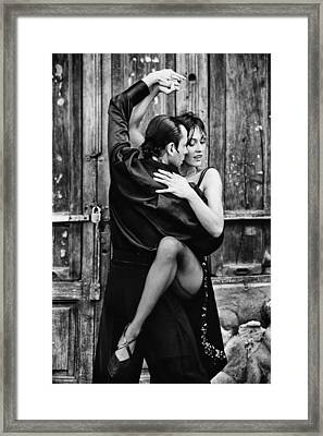 Romantic Tango Framed Print by Mountain Dreams