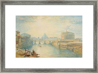 Rome Framed Print by Joseph Mallord William Turner