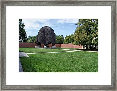 Roofless Church Framed Print by Sandy Keeton
