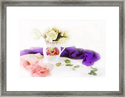 Room For Roses Framed Print by Diana Angstadt