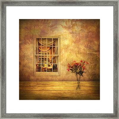 Room With A View Framed Print by Jessica Jenney