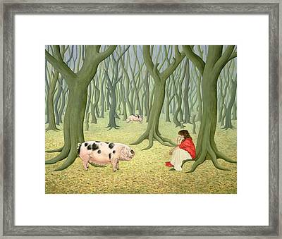 Roots Framed Print by Ditz