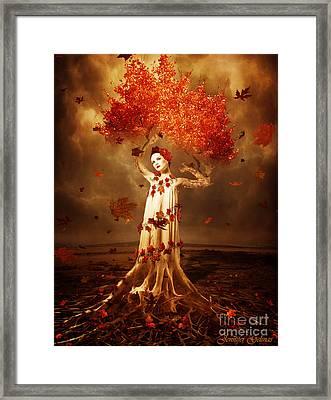 Roots Framed Print by Jennifer Gelinas