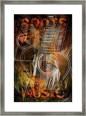 Roots Music Framed Print by Randall Nyhof