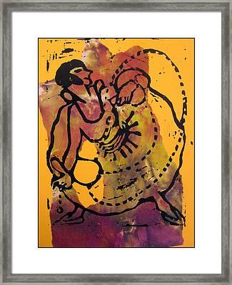 Ropedancer  Framed Print by Adam Kissel