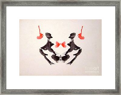 Rorschach Test Card No. 3 Framed Print by Science Source