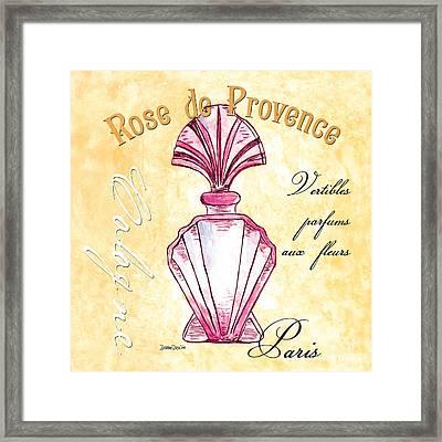 Rose De Provence Framed Print by Debbie DeWitt
