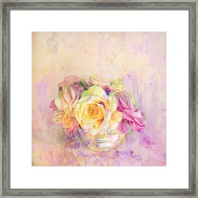 Rose Dream Square Format Framed Print by Theresa Tahara