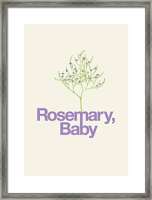 Rosemary, Baby Framed Print by Mike Lopez