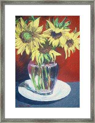 Rosemarys Gift Framed Print by Dolores Holt