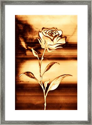 Rosewood Framed Print by Dolly Mohr