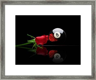 Rosey8 Framed Print by Draw Shots