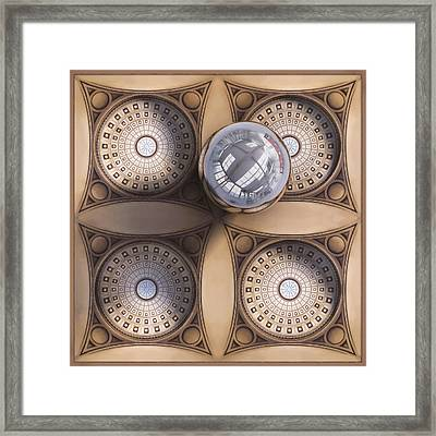 Rotunda 4 Ways Framed Print by Scott Norris