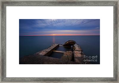Rough Around The Edges Framed Print by Andrew Slater