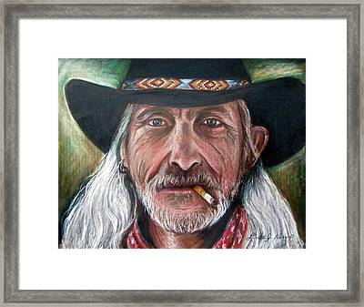 Rough Complexion Framed Print by Linda Nielsen
