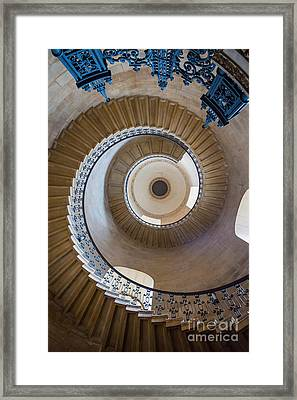 Round And Round Framed Print by Inge Johnsson