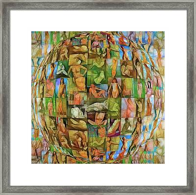 In The Seraglio #14 Framed Print by John Pullicino
