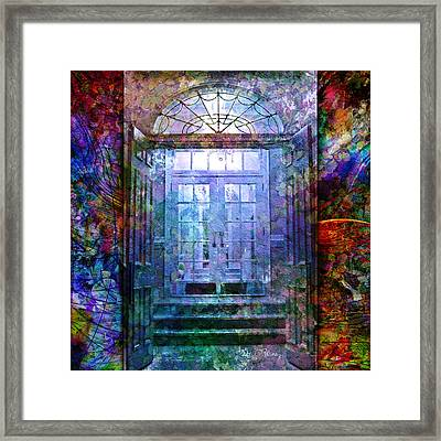 Rounded Doors Framed Print by Barbara Berney