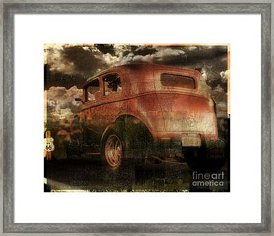 Route 66 Framed Print by Mindy Sommers