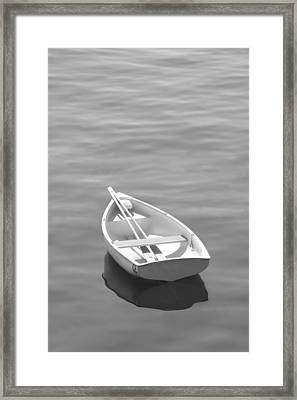 Row Boat Framed Print by Mike McGlothlen